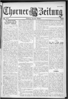 Thorner Zeitung 1899, Nr. 243 Zweites Blatt