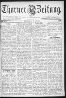 Thorner Zeitung 1899, Nr. 245