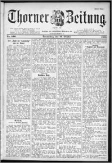 Thorner Zeitung 1899, Nr. 246 Erstes Blatt