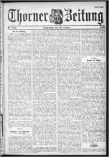 Thorner Zeitung 1899, Nr. 246 Zweites Blatt