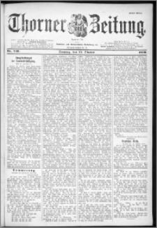 Thorner Zeitung 1899, Nr. 249 Erstes Blatt