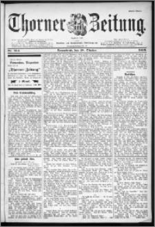 Thorner Zeitung 1899, Nr. 254 Erstes Blatt
