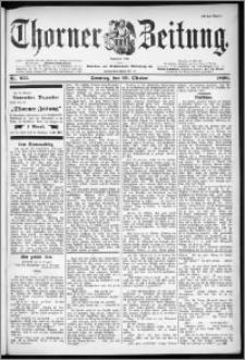 Thorner Zeitung 1899, Nr. 255 Erstes Blatt