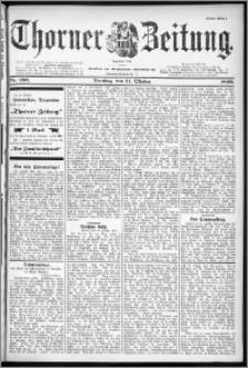 Thorner Zeitung 1899, Nr. 256 Erstes Blatt