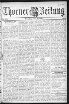 Thorner Zeitung 1899, Nr. 258 Zweites Blatt