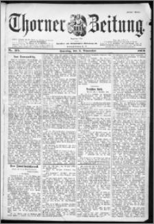 Thorner Zeitung 1899, Nr. 261 Erstes Blatt