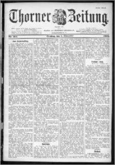 Thorner Zeitung 1899, Nr. 262 Erstes Blatt