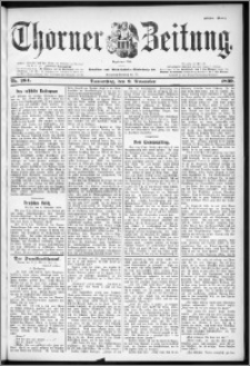Thorner Zeitung 1899, Nr. 264 Erstes Blatt