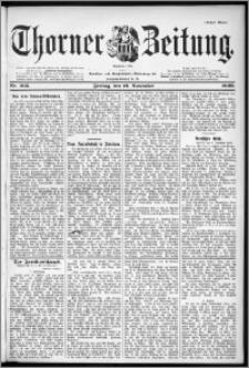 Thorner Zeitung 1899, Nr. 265 Erstes Blatt