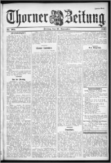 Thorner Zeitung 1899, Nr. 265 Zweites Blatt