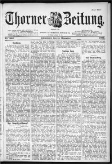 Thorner Zeitung 1899, Nr. 266 Erstes Blatt