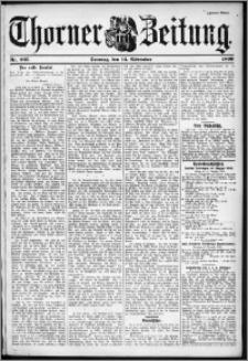 Thorner Zeitung 1899, Nr. 267 Zweites Blatt