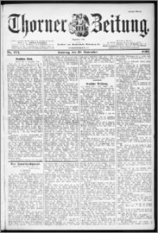 Thorner Zeitung 1899, Nr. 273 Erstes Blatt
