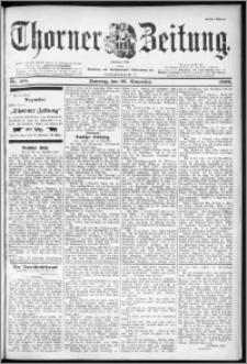 Thorner Zeitung 1899, Nr. 278 Erstes Blatt