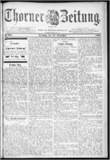 Thorner Zeitung 1899, Nr. 279