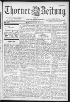 Thorner Zeitung 1899, Nr. 280 Erstes Blatt