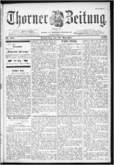 Thorner Zeitung 1899, Nr. 281 Erstes Blatt