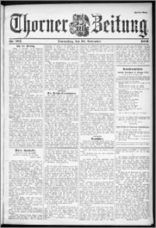 Thorner Zeitung 1899, Nr. 281 Zweites Blatt