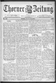 Thorner Zeitung 1899, Nr. 291 Erstes Blatt