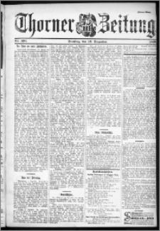 Thorner Zeitung 1899, Nr. 291 Drittes Blatt