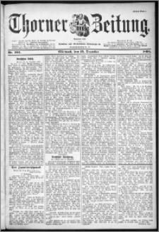 Thorner Zeitung 1899, Nr. 292 Erstes Blatt
