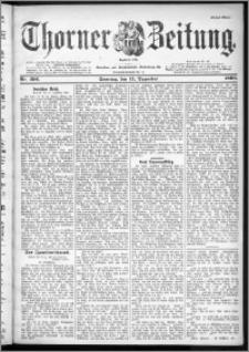 Thorner Zeitung 1899, Nr. 296 Erstes Blatt