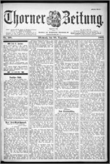 Thorner Zeitung 1899, Nr. 298 Erstes Blatt