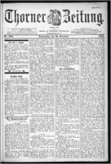 Thorner Zeitung 1899, Nr. 299 Erstes Blatt