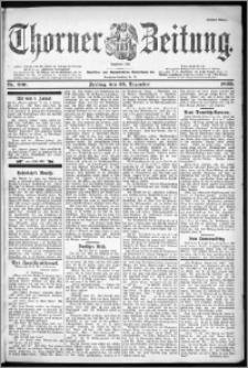Thorner Zeitung 1899, Nr. 300 Erstes Blatt