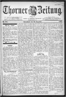 Thorner Zeitung 1899, Nr. 301 Erstes Blatt