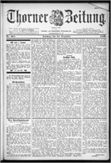 Thorner Zeitung 1899, Nr. 302 Erstes Blatt