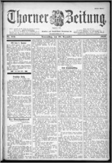 Thorner Zeitung 1899, Nr. 303 Erstes Blatt