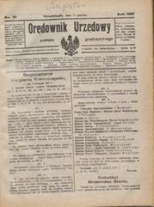 Orędownik Urzędowy Powiatu Grudziądzkiego 1927 nr 52