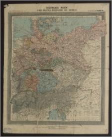 Deutsches Reich nebst Deutsch-Ōsterreich und Schweiz