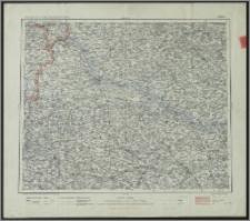 Übersichts-Karte des Deutsch-Russischen Grenzgebietes. Płock