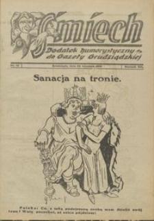Śmiech: dodatek humorystyczny do Gazety Grudziądzkiej 1931.09.30 R. XII nr 12