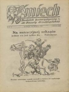 Śmiech: dodatek humorystyczny do Gazety Grudziądzkiej 1932.03.29 R. XIII nr 4