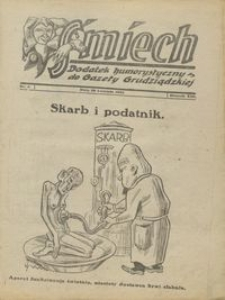 Śmiech: dodatek humorystyczny do Gazety Grudziądzkiej 1932.04.26 R. XIII nr 5