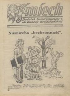 Śmiech: dodatek humorystyczny do Gazety Grudziądzkiej 1932.06.14 R. XIII nr 7