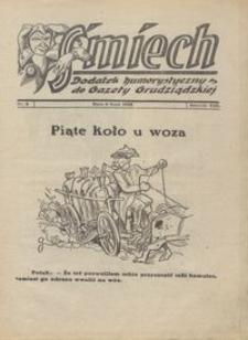 Śmiech: dodatek humorystyczny do Gazety Grudziądzkiej 1932.07.05 R. XIII nr 8