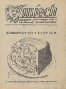 Śmiech: dodatek humorystyczny do Gazety Grudziądzkiej 1932.09.06 R. XIII nr 11