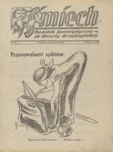 Śmiech: dodatek humorystyczny do Gazety Grudziądzkiej 1932.10.25 R. XIII nr 13