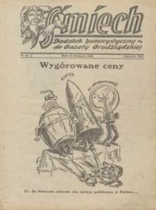 Śmiech: dodatek humorystyczny do Gazety Grudziądzkiej 1932.11.15 R. XIII nr 14