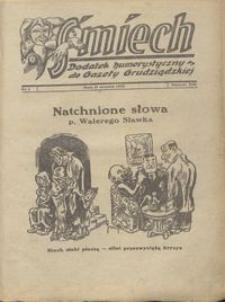 Śmiech: dodatek humorystyczny do Gazety Grudziądzkiej 1933.01.17 R. XIV nr 1