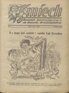 Śmiech: dodatek humorystyczny do Gazety Grudziądzkiej 1933.02.07 R. XIV nr 2
