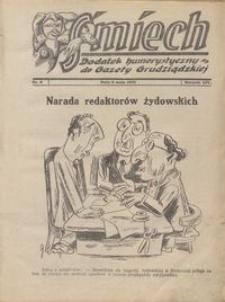 Śmiech: dodatek humorystyczny do Gazety Grudziądzkiej 1933.05.09 R. XIV nr 6