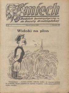 Śmiech: dodatek humorystyczny do Gazety Grudziądzkiej 1933.06.18 R. XIV nr 9