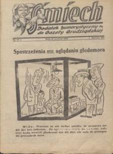 Śmiech: dodatek humorystyczny do Gazety Grudziądzkiej 1933.09.19 R. XIV nr 12