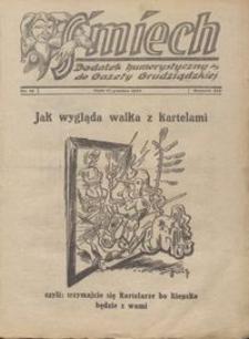 Śmiech: dodatek humorystyczny do Gazety Grudziądzkiej 1933.12.12 R. XIV nr 16