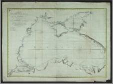 Carte de la Mer Noire, d'Azof et de Marmora
